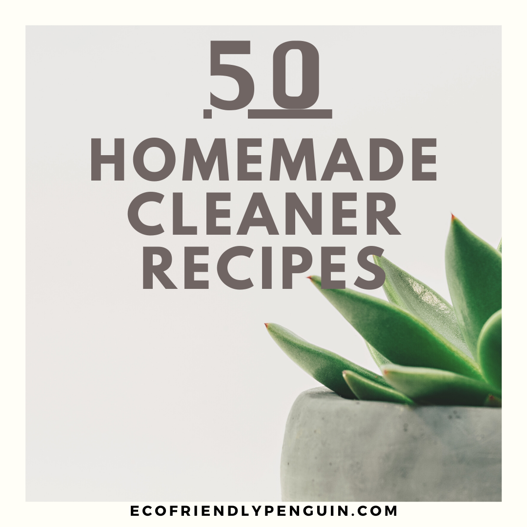 Huge List of DIY Cleaning Products