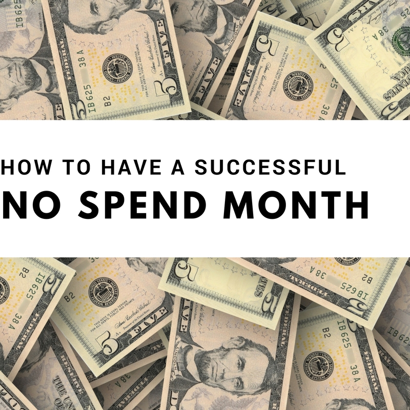 Tips for a Successful No Spend Challenge