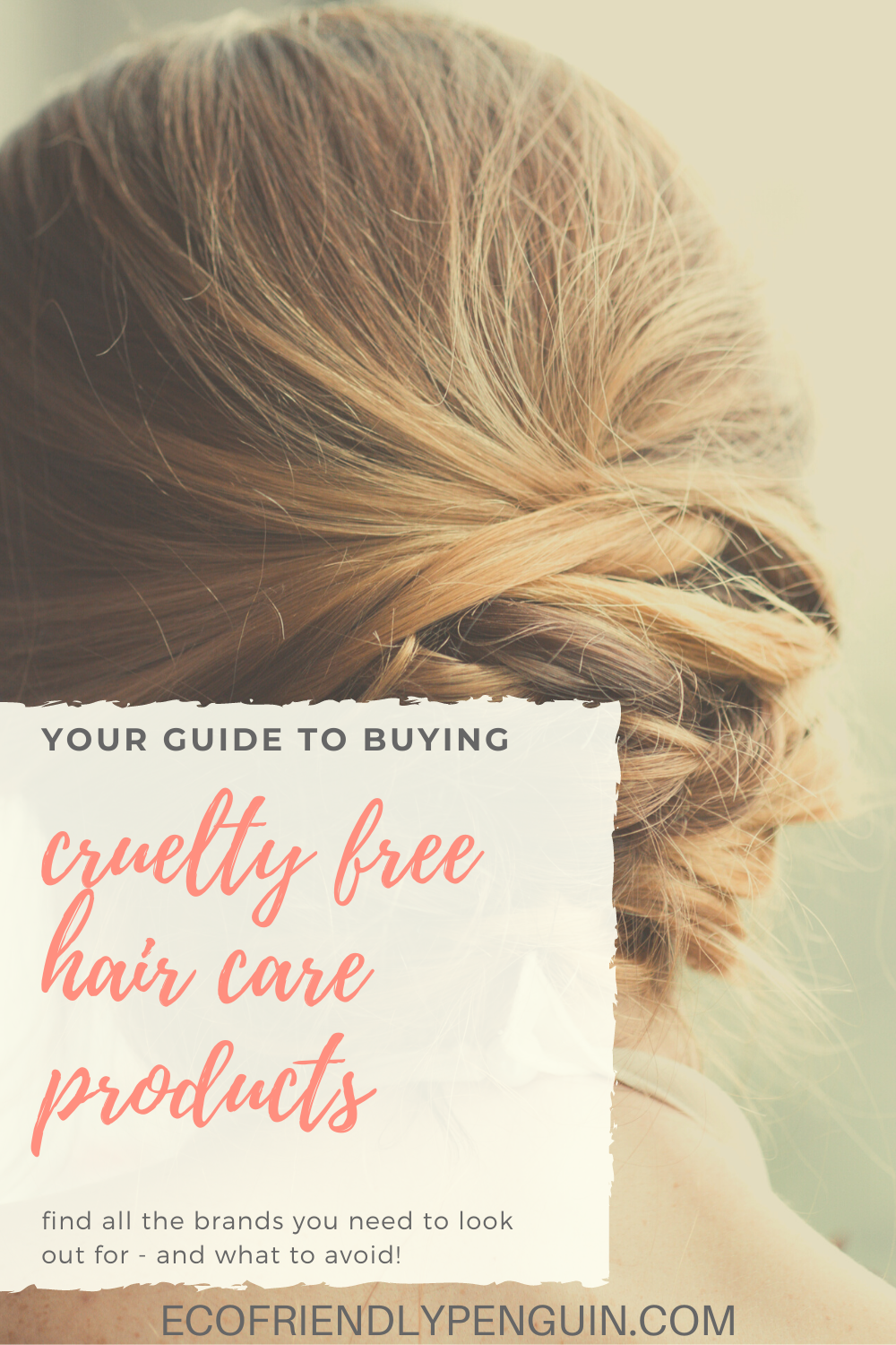 image reads cruelty free hair products